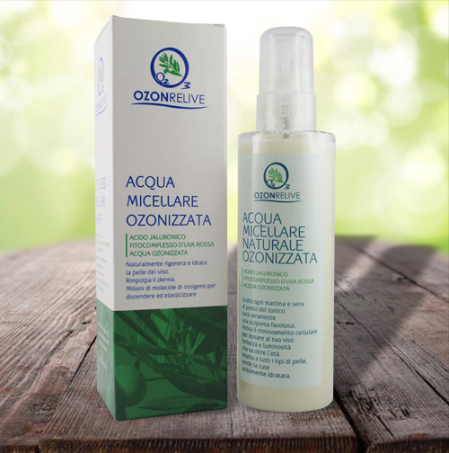 acqua micellare ozonrelive